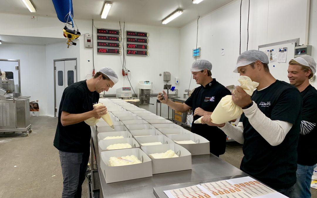 Bakery Nexus verrast Kinderfonds met taart voor 800 personen